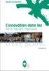 """Livre blanc """"L'innovation dans les Parcs naturels régionaux"""" - application/pdf"""
